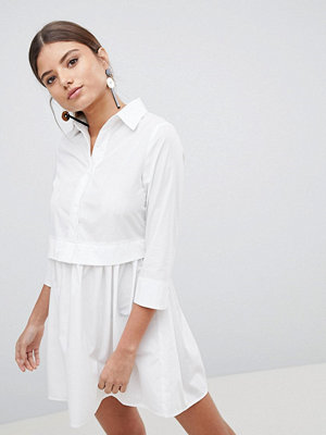 PrettyLittleThing Skater Shirt Dress