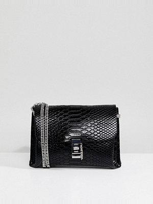 Morgan kuvertväska Mock Croc Clutch Bag