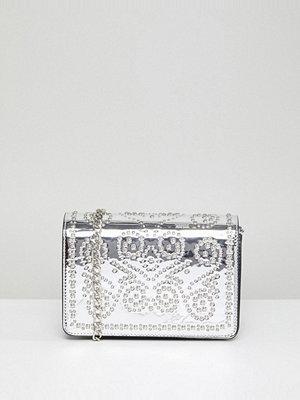 Morgan kuvertväska Studded Metallic Clutch Bag