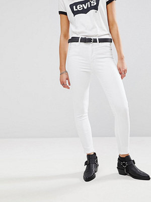 Levi's Mile High Jeans med supersmal passform Western white