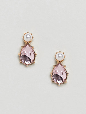 ASOS örhängen Twinkle Faux Pearl and Stone Jewel Earrings