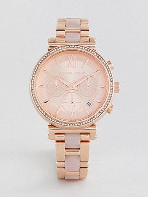 Michael Kors MK6560 Sofie Bracelet Watch In Rose Gold 39mm