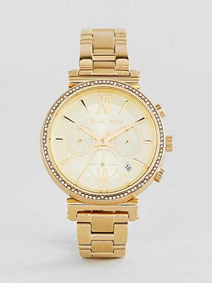Michael Kors MK6559 Sofie Bracelet Watch In Gold 39mm