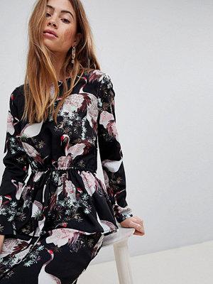 Vila Bird Print Dress