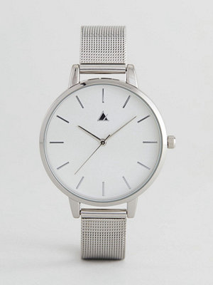 Klockor - ASOS Tonal Silver Mesh Watch