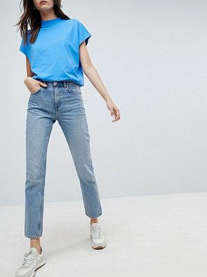 Weekday Seattle High Waist Mom Jeans - Week blue
