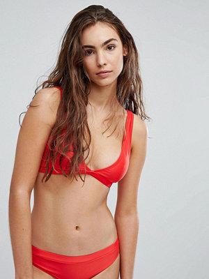Brave Soul Plunge Neck Bikini Set