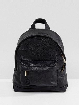 Mi-Pac ryggsäck Super Mini Tumbled PU Backpack In Black