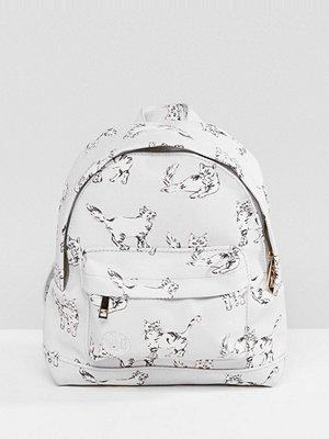 Mi-Pac ryggsäck Super Mini Backpack in Cat Print