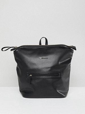 Armani Exchange ryggsäck Black Minimal Backpack