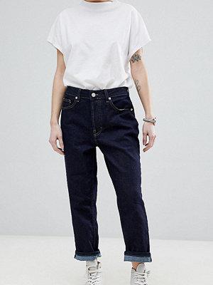 ASOS White Petite Jeans med raka ben