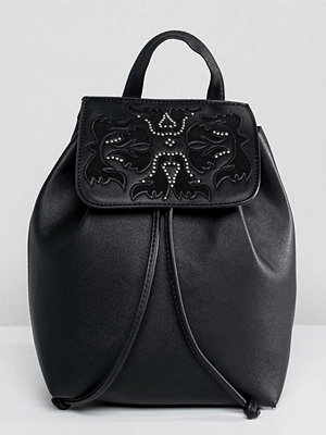 Bershka ryggsäck Western Detail Backpack With Drawstring