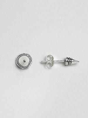 Kingsley Ryan örhängen Sterling Silver Circular Cone Stud Earrings
