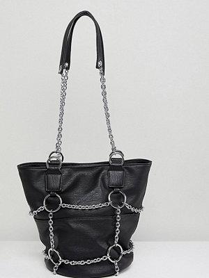 Sacred Hawk axelväska Shoulder Bag With Chains