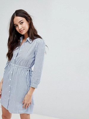 Glamorous Stripe Shirt Dress