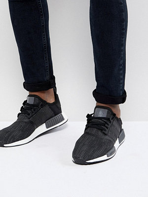 Adidas Originals NMD R1 Trainers In Black B79758