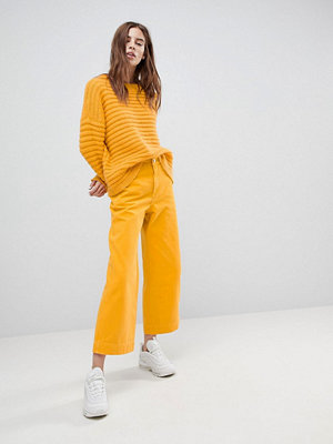 Weekday Vida Yellow Skater Jeans