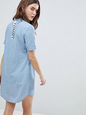 Tommy Jeans Denim Shirt Dress