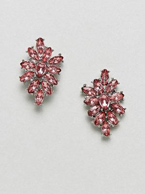 ASOS örhängen DESIGN Occasion jewel cluster earrings