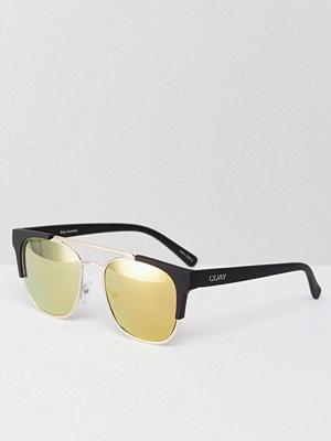 Solglasögon - Quay Australia High And Dry Sunglasses In Gold