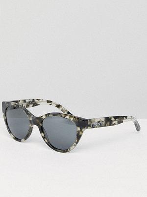 Solglasögon - DKNY Cat Eye Sunglasses In Tort