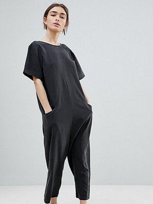 ASOS Petite Minimal Jumpsuit with Dropped Crotch