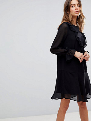 Y.a.s Ruffle Dress With Sleeve Detail