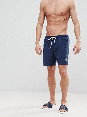 Badkläder - Calvin Klein NYC Medium Swim Shorts
