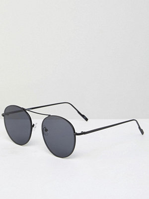 Jeepers Peepers Round Metal Sunglasses