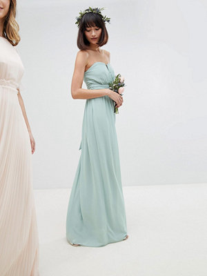 TFNC Bandeau Maxi Bridesmaid Dress