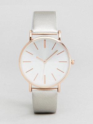 New Look Silver Split Dial Watch