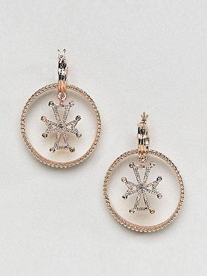 Reclaimed Vintage örhängen Inspired Double Hoop Earrings
