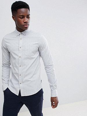 Skjortor - Gandys Gandy's Grey Classic Dobby Shirt