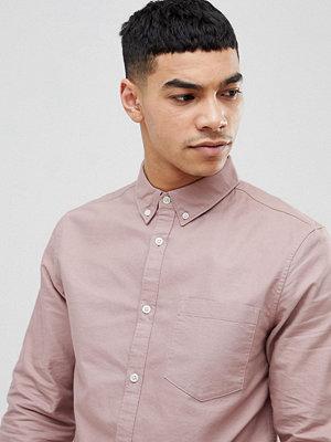 Skjortor - New Look Oxford Shirt In Pink