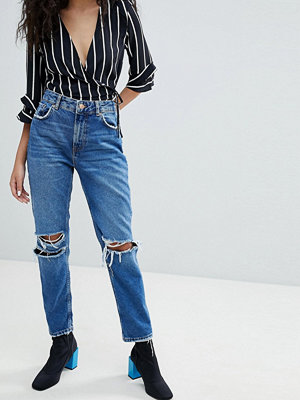 Bershka Ripped Knee Jean