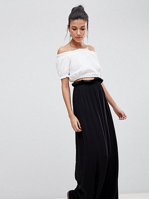 Asos Tall ASOS DESIGN Tall Maxi Skirt With Paperbag Waist