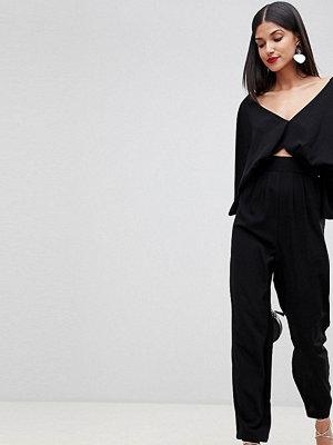 Asos Tall ASOS DESIGN Tall jumpsuit with kimono sleeve and peg leg