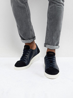 Selected Homme Premium Trainers With Toe Cap