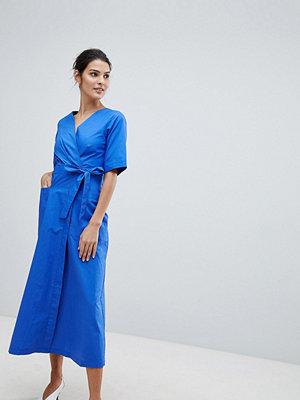 Closet London Closet Midi Wrap Dress