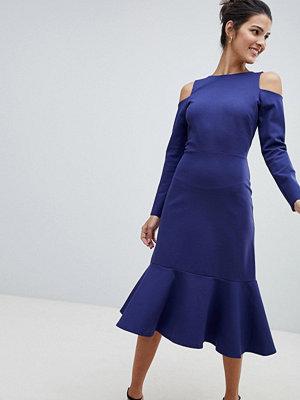 Closet London Closet Cold Shoulder Dress