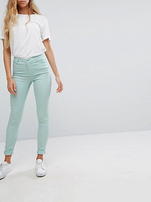Vero Moda Denimjeggings Grön