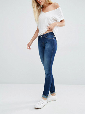 Lee Scarlett Jeans med extra smal passform Night sky