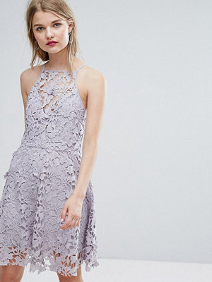 New Look Cutwork Lace Skater Dress