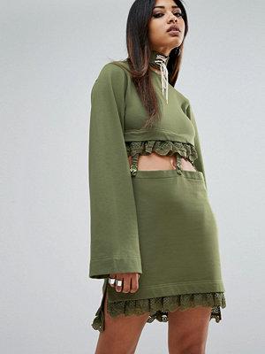 Puma X Fenty Kimono Sleeve Suspender Dress