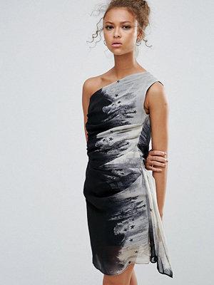 Religion One Shoulder Mini Dress