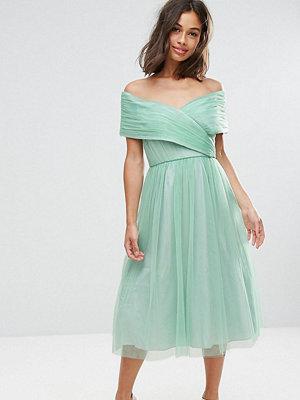 ASOS Petite WEDDING Tulle Midi Dress