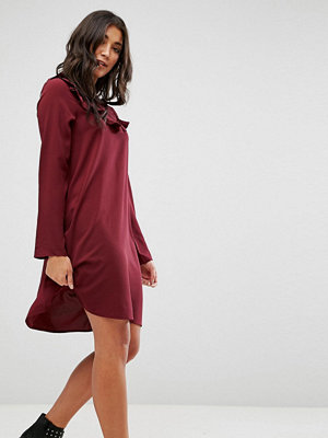 Brave Soul Frill Swing Dress