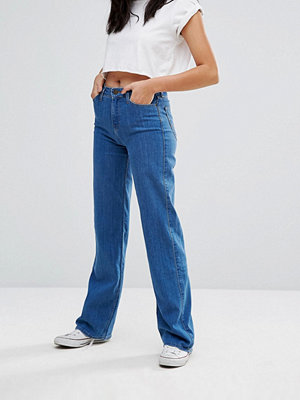 Lee High Waisted Wide Leg Retro Jean - Flat disco
