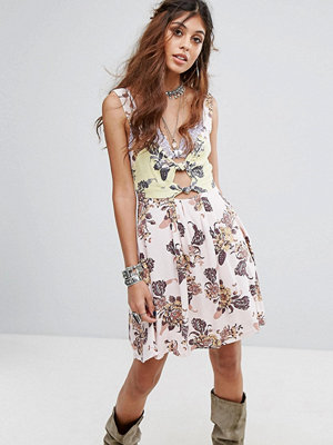 Free People Baby It's You Printed Mini Dress