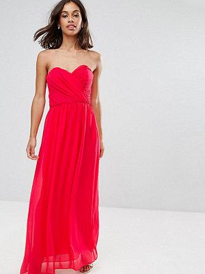 ASOS Petite WEDDING Chiffon Bandeau Maxi Dress